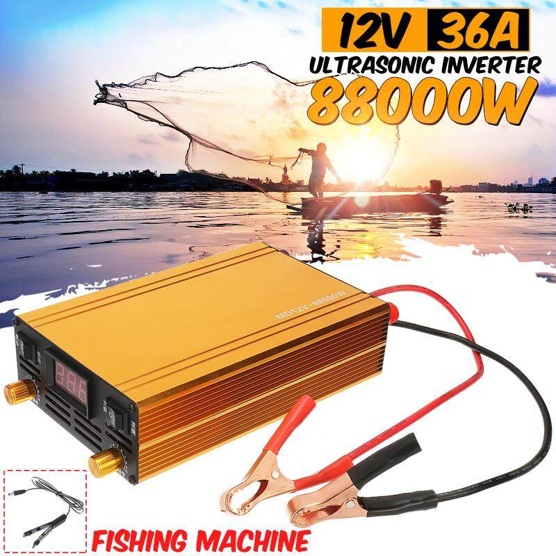 88000w 12v 36a Ultrasonic Inverter Electronic Fisher High Power Fishing Machine By Freebang.