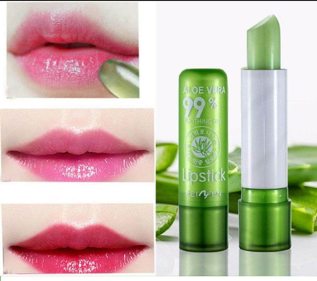 Aloe Vera 99% Soothing Gel Lipstick (1 Pc) By Easy-Shopping.