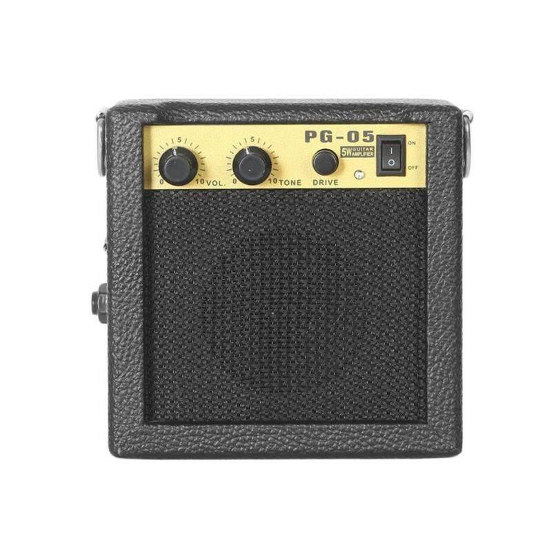 Bán Chạy nhất E-WAVE PG-05 5 W Di Động Đàn Guitar Ampli Guitar Amp Với 3 Inch Loa