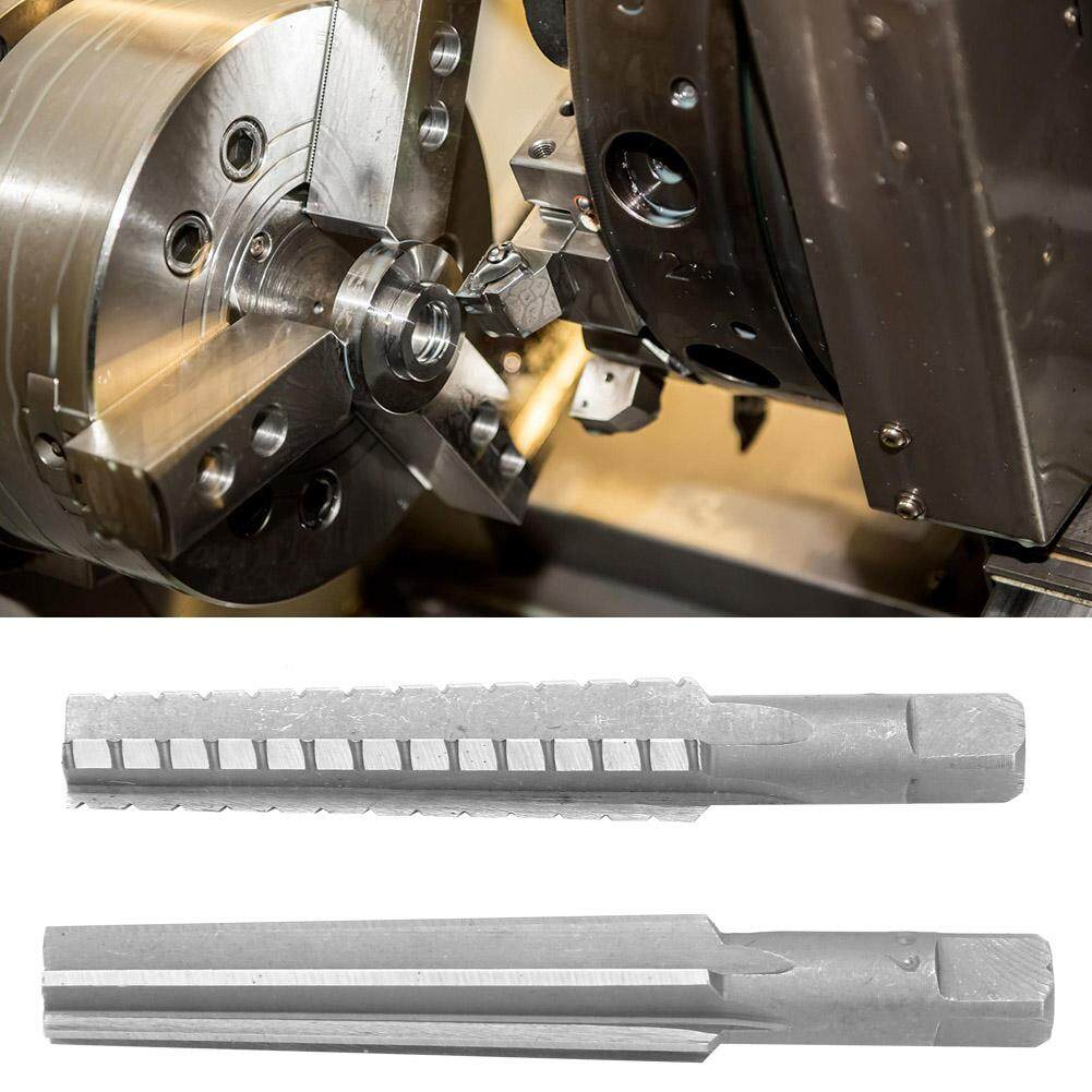 Milling Machine Installed in Drilling Machine Gulakey 2 Pcs HSS MT3 Taper Fine+Rough Reamer with Straight Shank for Bore Machining etc.