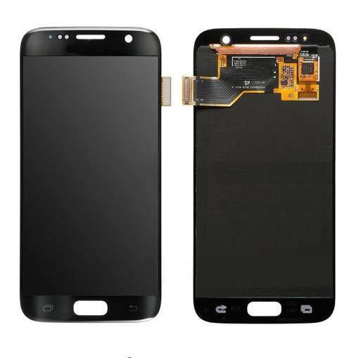 LCD Layar Pendigit untuk Samsung Galaxy S7 G930F Layar LCD Lengkap Layar Panel Sentuh Digitizer Perbaikan Komponen 5.1 Inci