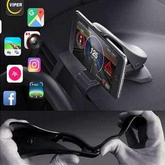 รถแดชบอร์ด CLAMP คลิปหนีบผู้ถือ Stand สำหรับโทรศัพท์มือถือ IPhone X Galaxy S-