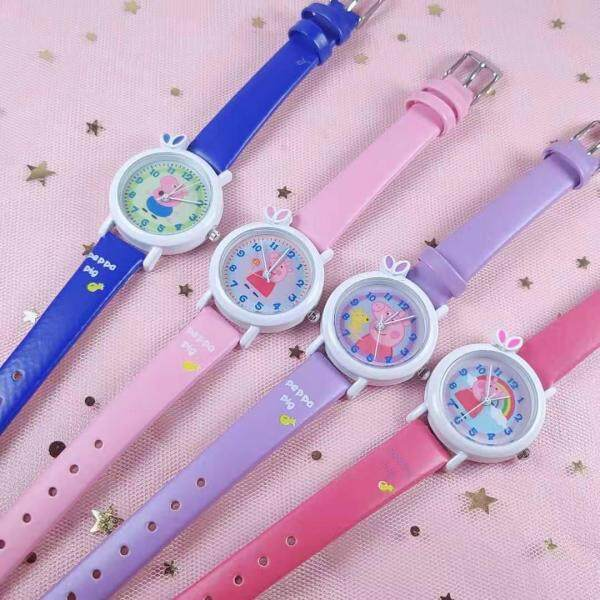 New Childrens Cartoon Watch Kids Digital Electronic Watch Student Quartz Watch Free Shipping Malaysia