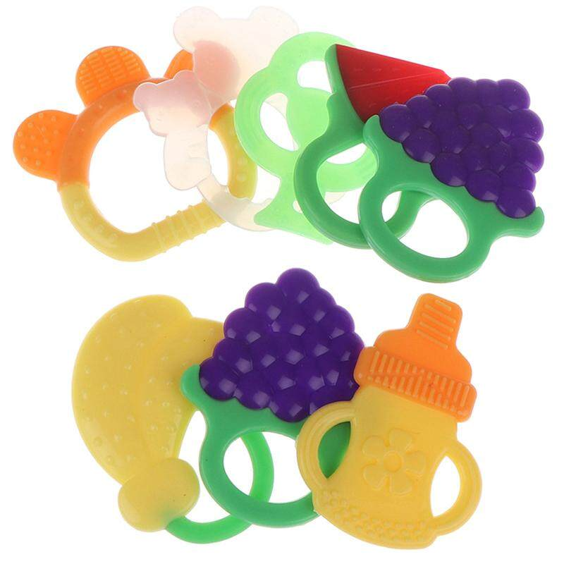 matingting Princess 4pcs Set Baby Infant Toddler Teething Toys Safe Teether Set Baby Toys