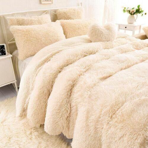Long Pile Plush Sherpa Throw Blanket Soft Faux Fur Warm By Streamflowing.