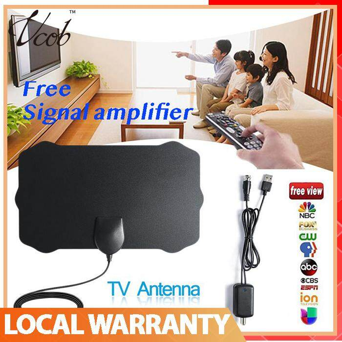 120 Miles TV Antena 1080P Digital HDTV Indoor TV Antenna With Amplifier  Signal Booster Radius Surf Fox HD Mini Antennas Aerial