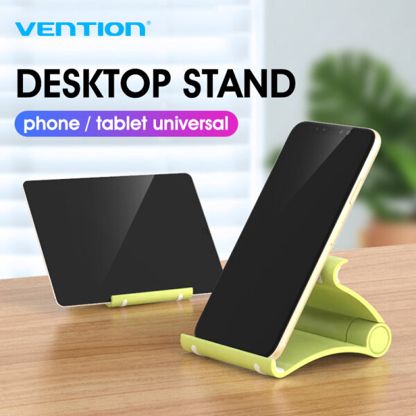 Vention Phone Holder Desk Stand For Your Mobile Phone Tripod For iPhone Xsmax Huawei P30 Xiaomi Mi 9 Plastic Foldable Desk Holder Stand