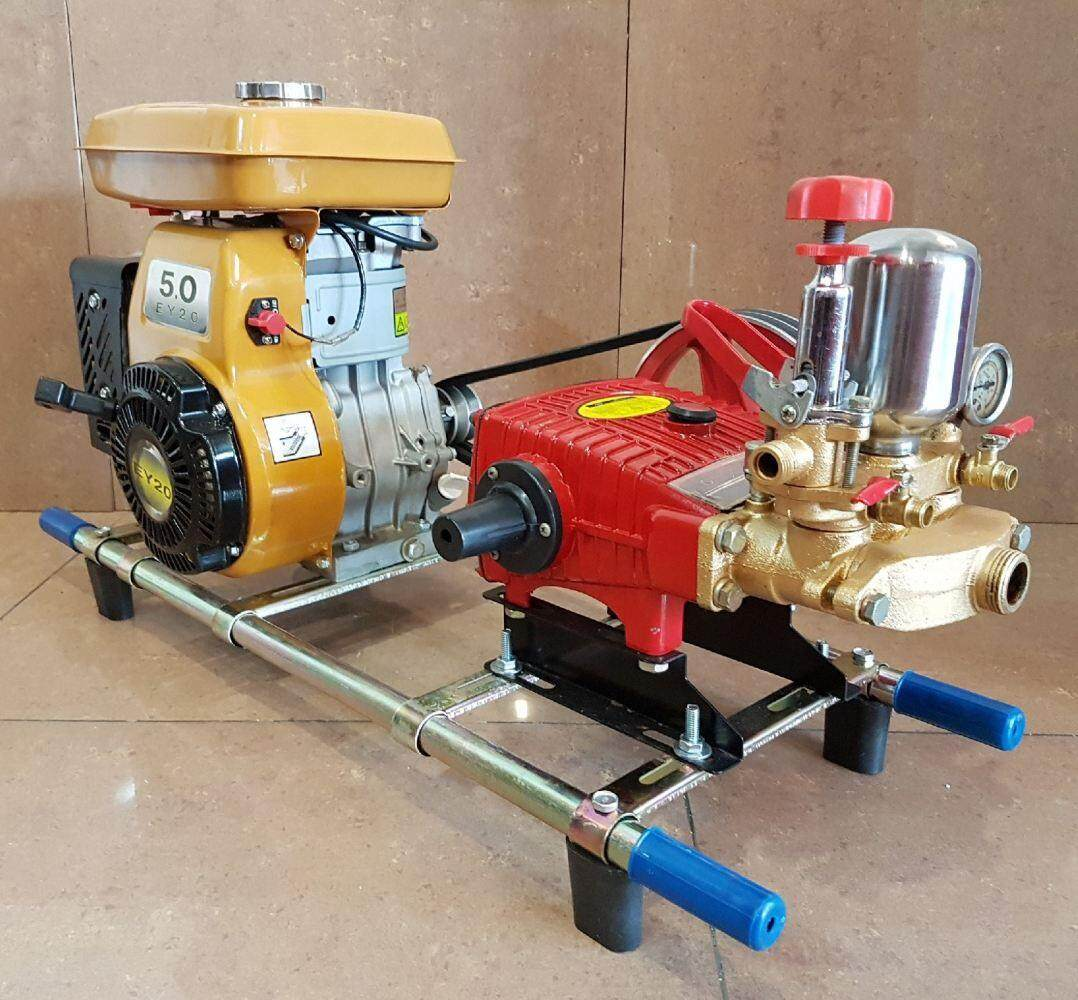 Plunger Pump c/w  Petrol Engine Completed Set   ID557345