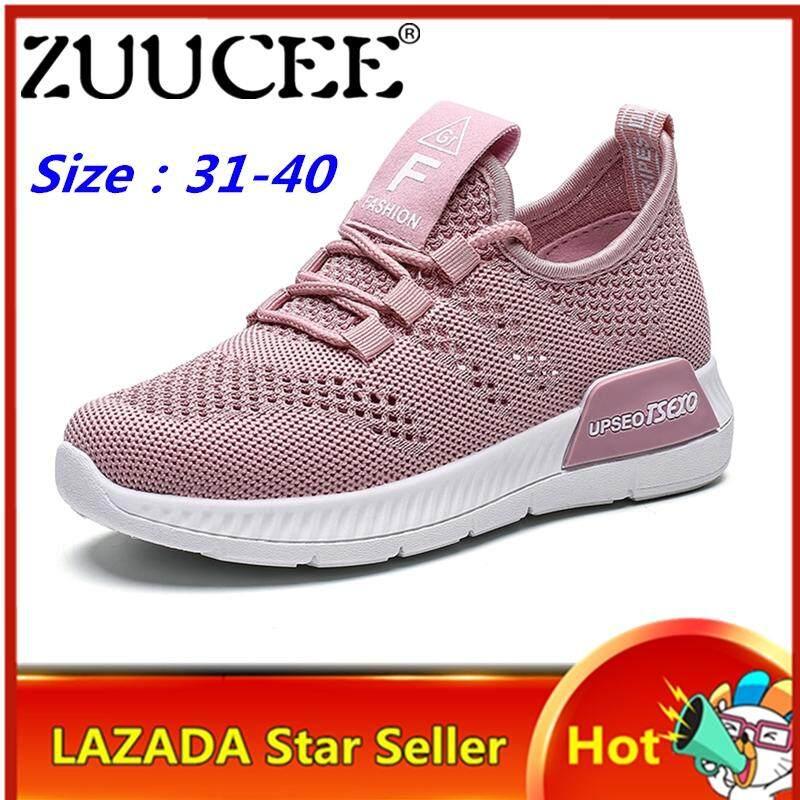 Giá bán ZUUCEE Bé Gái Giày Sneakers Thời Trang Bé Gái Lưới Nhân Quả Giày Rỗng Thoáng Khí Chạy Bộ Xu Hướng Sinh Viên Giày