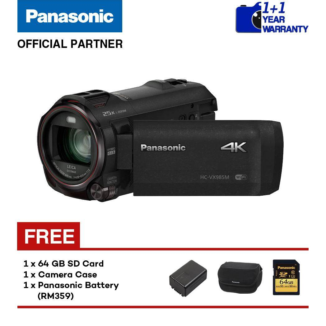 Panasonic Video Action Camcorder Price In Malaysia Best Ag Ac90 Professional Hc Vx985 4k Ultra Hd Black