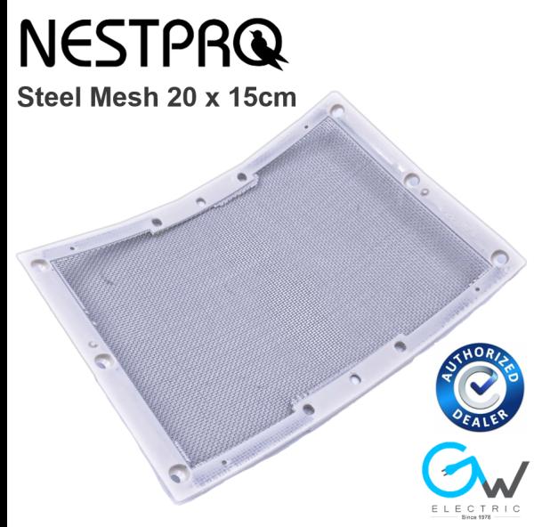 1pc Nestpro 304 Stainless Steel Mesh Only For Swiftlet Use Corner Mesh 20cm x 15cm (SFAZNP-MESH)