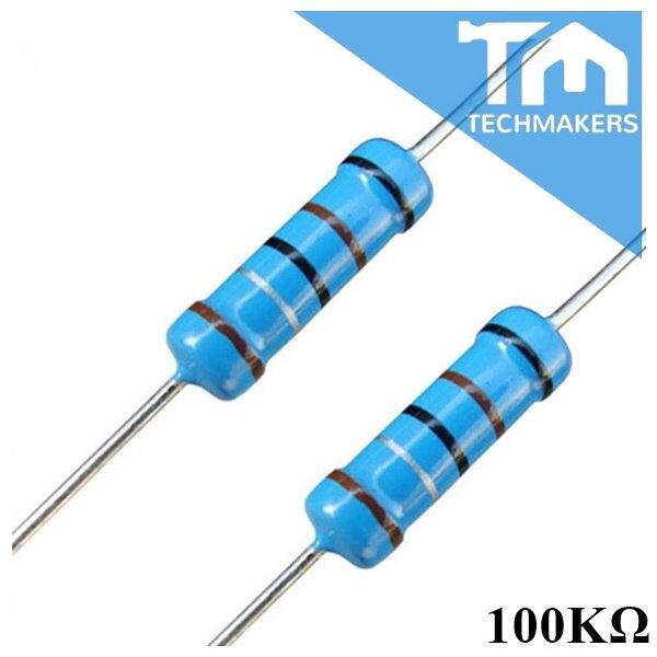 1 MOhm 10 pack of 10 Metal film resistor 1//4/W