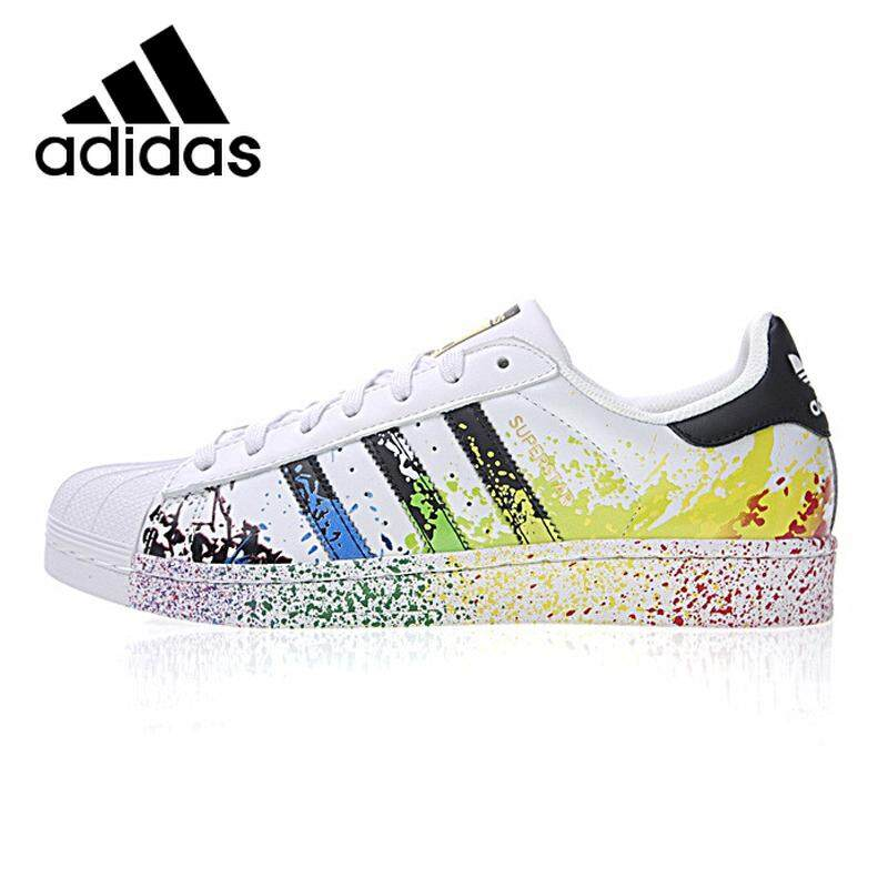 2019 new adidas shoes clover SAMBA OG men women classic skate shoes casual shoes couple shoes sneakers B75807