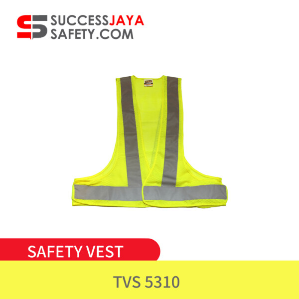 Malaysia Tanker Safety Vest TSV 5310👷🏼♂️ FL.YE Fluorescent Yellow High Visibility