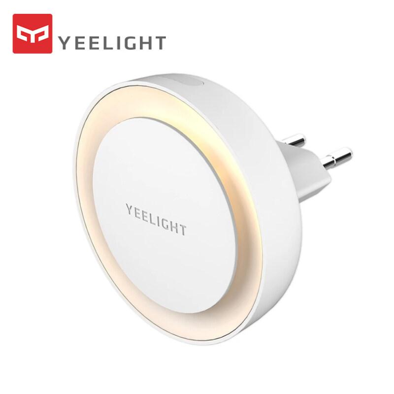 Đèn LED Cắm Vào Ban Đêm Xiaomi Yeelight, Đèn Ngủ Tự Động Cảm Biến Ánh Sáng Nhạy Cảm, Tiết Kiệm Năng Lượng, Ánh Sáng Trắng Ấm Cho Phòng Khách, Phòng Ngủ, Phòng Trẻ Em, Cầu Thang Hành Lang, YLYD10YL
