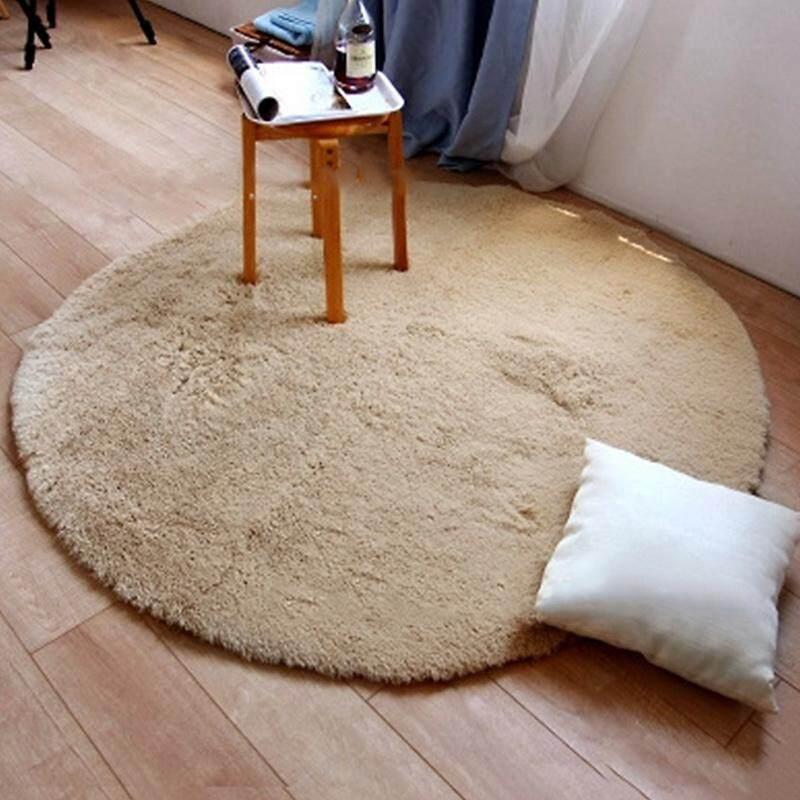 1 Pcs 120cm Round Fitness Yoga Carpet Living Room Bedroom Floor Mats Dining Room Home Decor Sofa Chair Cushion Soft Area Rugs Chair Cushion