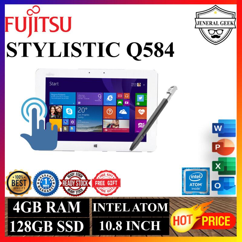 Fujitsu Stylistic Q584 - 10.1 - Atom Z3770 - 4 GB RAM - 128 GB eMMC Only Tablet Malaysia