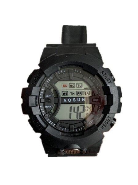 ™☢  Ins male high schOOl girl electrOnic watch elementary schOOl cOntracted wind mOvement children cOuples nOctilucent waterprOOf trend Malaysia