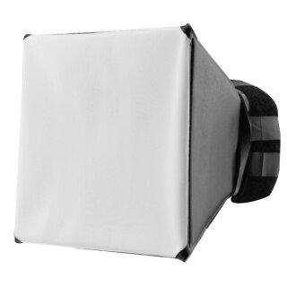 Đèn Flash Chụp Ảnh DSLR Có Thể Gập Lại Thông Dụng 125X100Mm, Ánh Sáng Khuếch Tán Mềm Hộp thumbnail