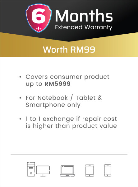 Laptop StarProtection Care Pack (Extend Warranty) Malaysia