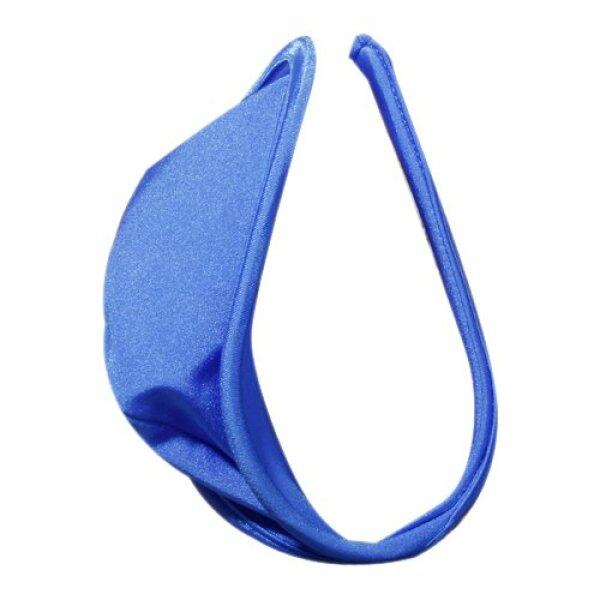 Sexy C-string Thong Invisible Underwear Panty for Men - Blue Malaysia