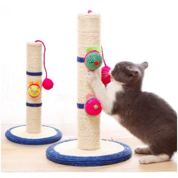 Mouse On Pole Scratching Pole Cat Toy Cat Tree Malaysia