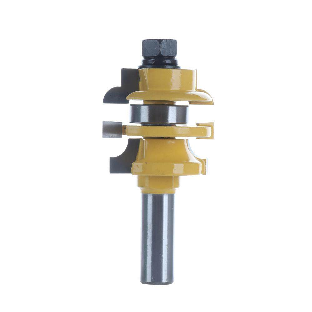 [huangjuying]1/2 Stacked Rail Stile Router Bit Solid Hardened Steel Wood Working Cutter