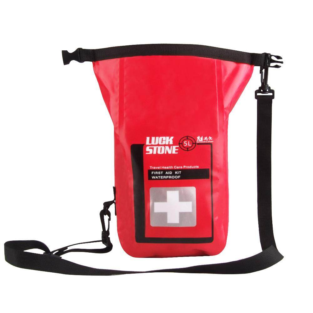 BolehDeals Empty Waterproof PVC Emergency First Aid Kit Dry Bag Outdoor Medical Pouch
