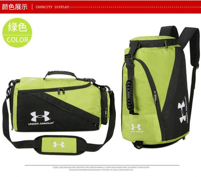 2019 ร้อนภายใต้ Armour_bag กันน้ำกระเป๋ากีฬาสำหรับไปยิมกลางแจ้งการฝึกอบรมฟิตเนสโยคะกระเป๋าสะพายไหล่ผู้หญิงกระเป๋าสะพายไหล่ผู้ชายยิมนาสติกกระเป๋าใส่เสื้อผ้า Ad แบบพกพาขนาดใหญ่กระเป๋ากีฬาโรงยิม.