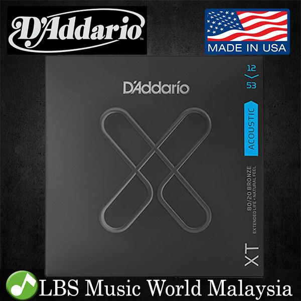 Daddario XTABR1253 XT 80/20 Bronze Acoustic Guitar String Light Daddario D Addario (12-53) Malaysia