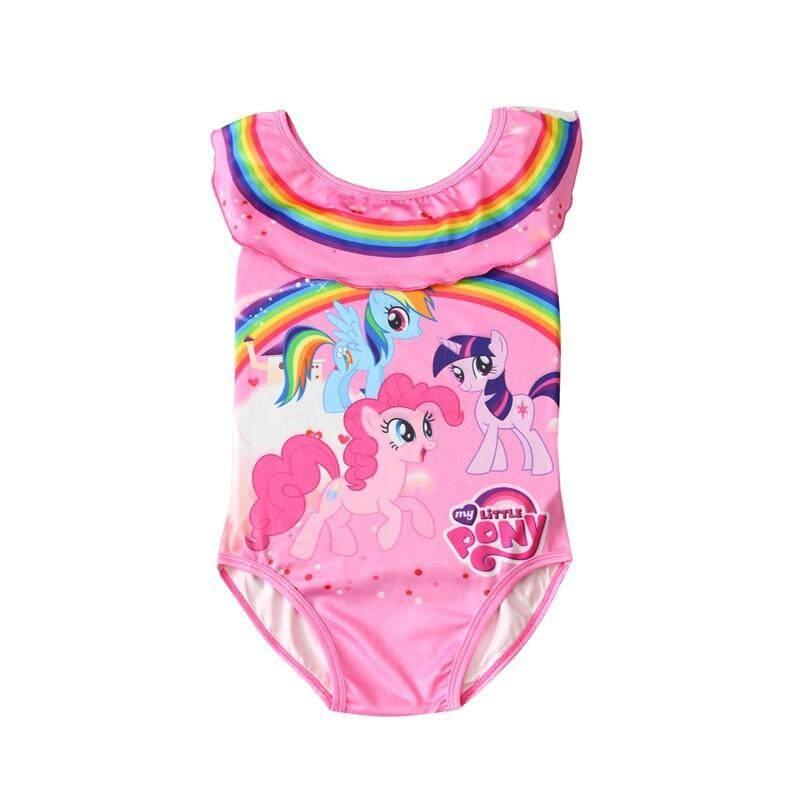 2e795e2d693fe YALEER 2019 Baby Swimsuit Unicorn Baby Girls Swimwear Princess One-piece  Swimsuit Kids Girls Swimming
