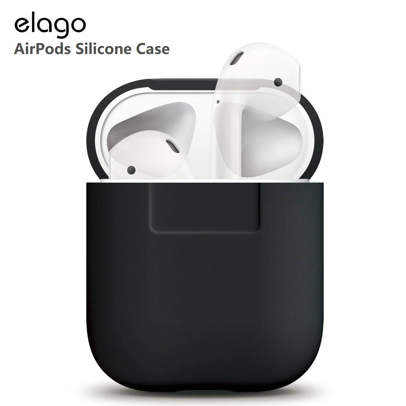 Elago AirPods Silicone Case for AirPods 1st and 2nd Generation Wired  Charging Version Apple AirPods 2 Colourful Protective Anti Scratch Perfect  Fit