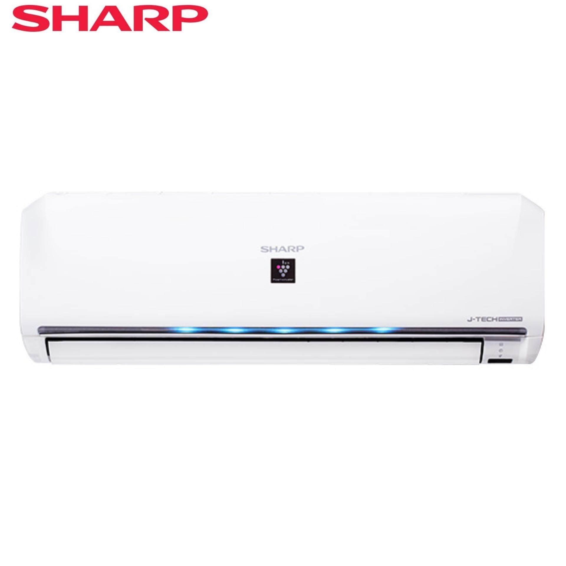 SHARP AHXP10UHD/AUX10UHD AIR COND 1.0HP PCI J-TECH INVERTER GAS R410A