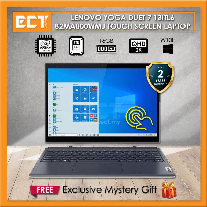 Lenovo Yoga Duet 7 13ITL6 82MA000WMJ Laptop (I7-1165G7 4.70GHz,16GB, 1TB SSD,13 WQHD, Intel,W10) Malaysia