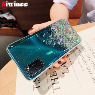 Ốp lưng điện thoại làm bằng nhựa mềm trong suốt in hình ngôi sao kim tuyến lấp lánh kiểu dáng sang trong dành cho các dòng điện thoại OPPO A33, A53 2020, OPPO A52,OPPO A92, OPPO A31 2020, OPPO A9 2020, OPPO A5 2020, OPPO A91,OPPO A7 A5S,OPPO Reno 2F - INTL thumbnail
