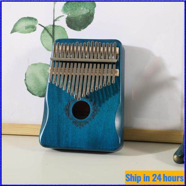 17 Key Kalimba Mahogany Piano Musical Instrument Thumb Piano Kalimba 17-key Instrument for Beginner [Ready Stock] Malaysia