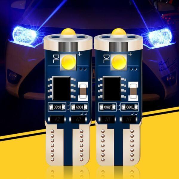 Chất Lượng Cao Tail Side Bulb Auto Marker Đèn Wedge Chip LED T10 W5W WY5W 501 2825 168 Đèn Xe