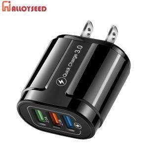 US EU Cắm 3 Cổng USB Sạc 3.1A Sạc Nhanh 3.0 Tường Điện Thoại Sạc Adapter Phụ Kiện Di Động thumbnail