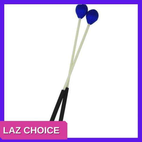 LAZ CHOICE Primary Marimba Stick Mallets Xylophone Glockensplel Mallet with Fiberglass Handle Percussion Instrument Accessories for Professionals Amateurs 1 Pair Blue (Blue) Malaysia