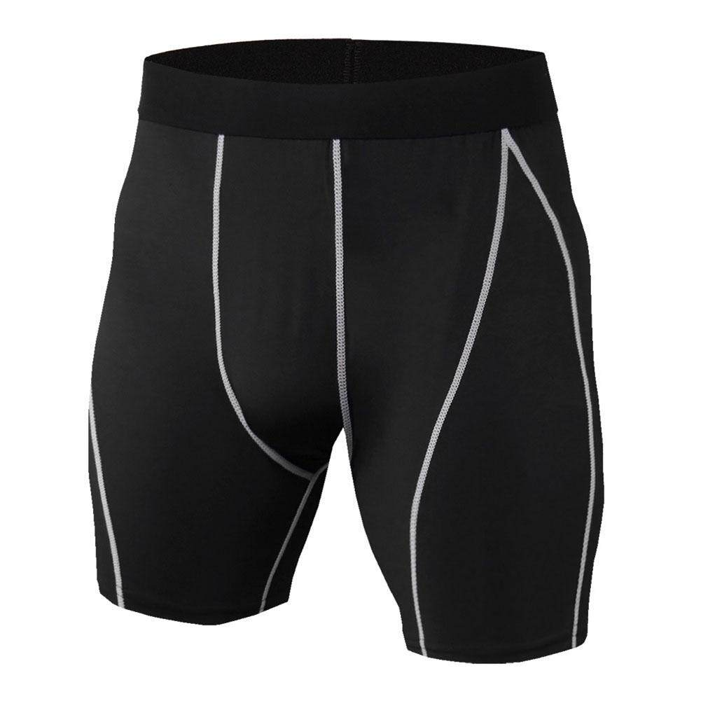 [dailynews] Mens Compression Shorts Gym Sport Pants Running Gym Fitness Trousers By Dailynews.