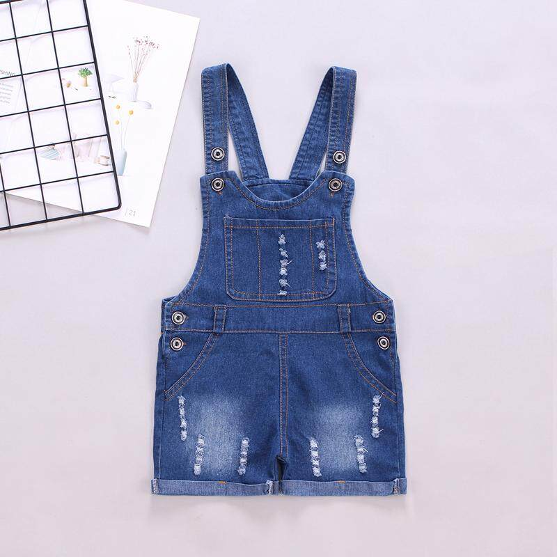 541fbc35 IENENS 3 4 5 Years Summer Boy Shorts Overalls Baby Infant Toddler Girls  Jeans Dungarees Child