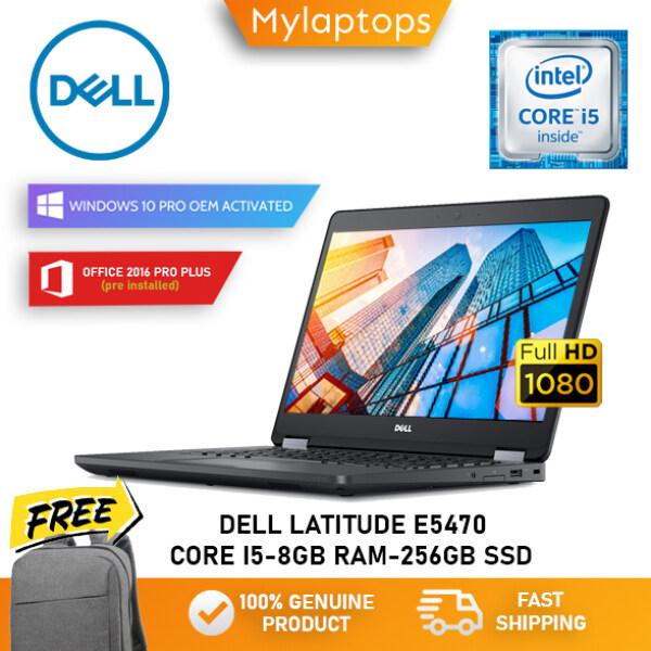 DELL LATITUDE E5470 ULTRABOOK [CORE I5-6TH GEN / 8GB DDR4 RAM / 256GB SSD] WINDOWS 10 PRO / 1 YEAR WARRANTY Malaysia