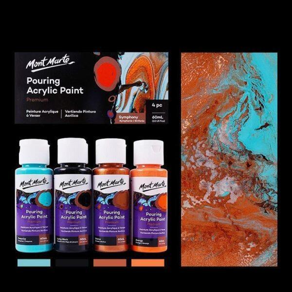 Mua Bộ Sơn Acrylic Nhuộm Màu 60ML Dụng Cụ Vẽ Trung Bình Đổ Acrylic Sơn Đá Cẩm Thạch Chất Lỏng Đồ Dùng Nghệ Thuật Tự Làm Cho Nghệ Sĩ