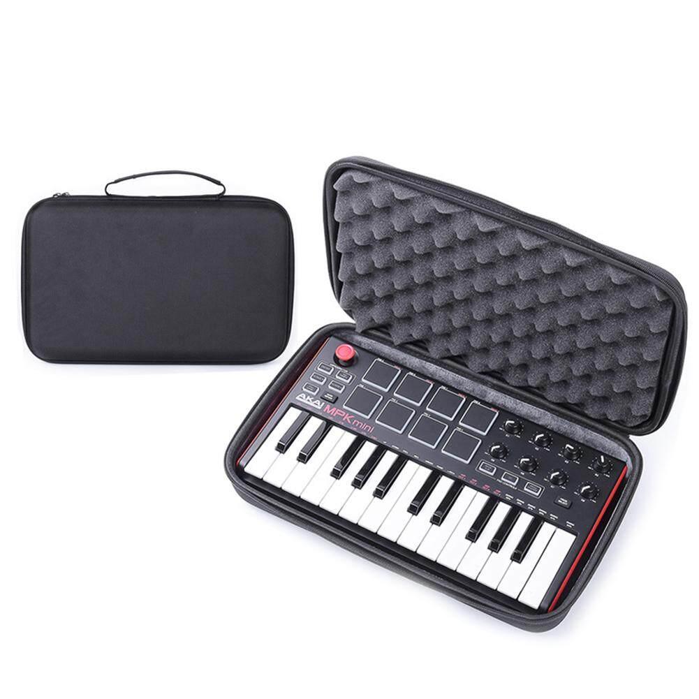 Instrument Storage Bag for MPK Mini MK2 Keyboard Hard Case Travel Carrying Protective Bag for Mini Play Akai Professional Fire 25-Key Portable USB MIDI Keyboard
