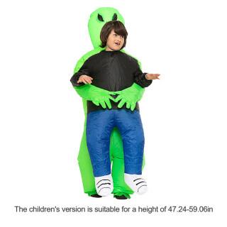 Halloween Inflatable Trang Phục, Đầm Bơm Hơi Khổng Lồ Alien ET Up Trang Phục Bơm Hơi Hóa Trang Tiệc Halloween, Đi Bộ Trang Phục Biểu Diễn thumbnail