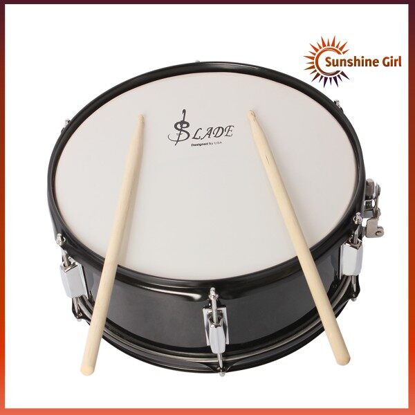 Professional Snare Drum Head 14 Inch with Drumstick Drum Key Strap for Student Band Malaysia