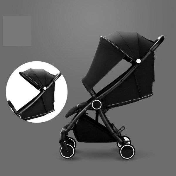 Free Shipping Light Baby Stroller Luxury Fashion Baby Pram Portable Travel Carriage On 2019 Singapore