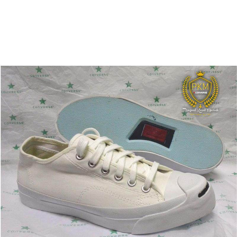 3c54e7702ccfd8 READY STOK- KASUT SHOES CONVERSE JACK PURCELL SNEAKERS LOW TOP - WHITE