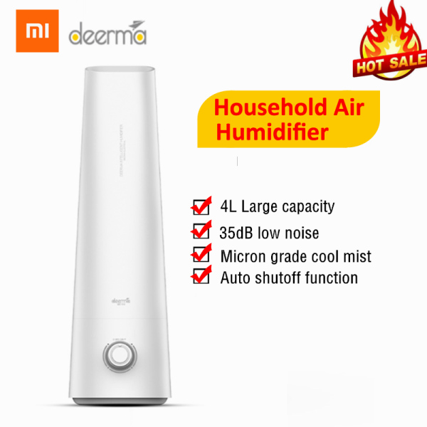 Xiaomi Deerma DEM - LD200 4L Air Humidifier Cool Mist Aromatherapy Mute Air Diffuser Purifier Low Noise For Bedroom Singapore