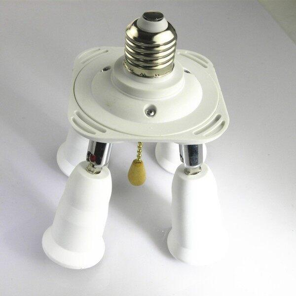[Ánh Sáng] Bộ Chuyển Đổi Bóng Đèn Ổ Cắm Đèn Đèn Có Công Tắc Bật Tắt AC100-250V